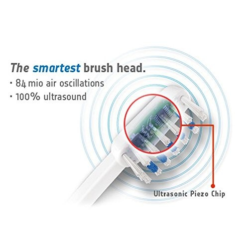 New Emmi Dent Chrome Electric Toothbrush Ultrasound Clean